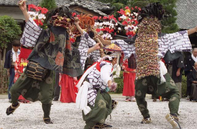 藤沢の獅子舞