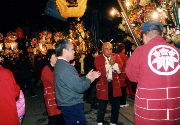 恵比寿社祭・おかめ市