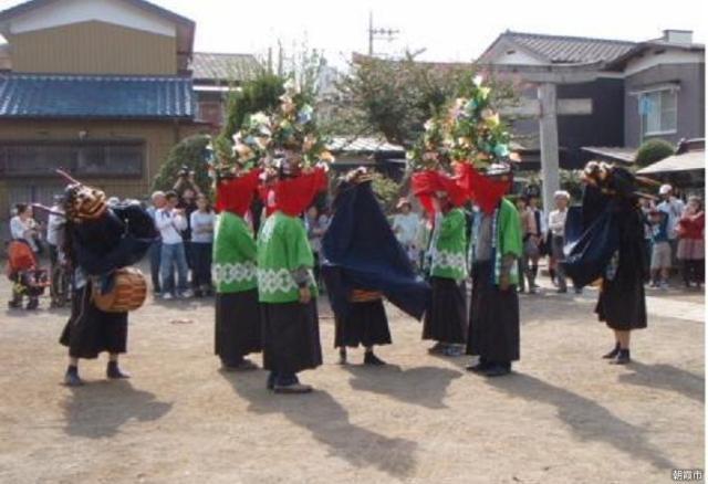 溝沼獅子舞