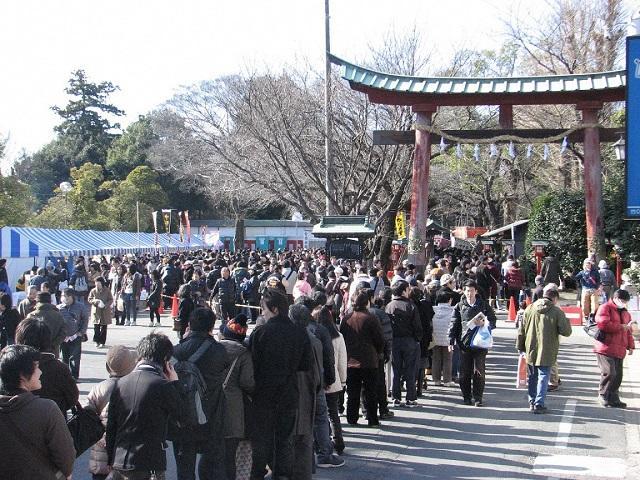 鷲宮神社初詣