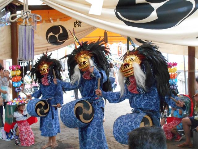 二丁目の獅子舞