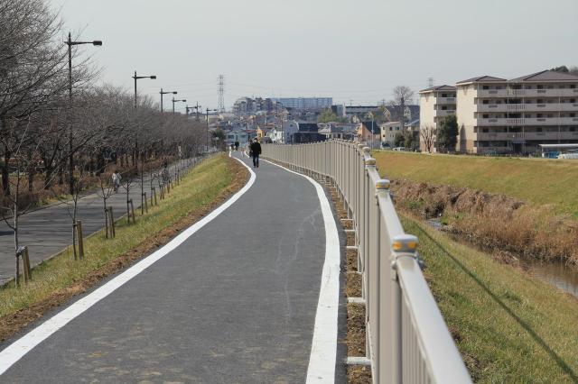 富士見江川サイクリングコース