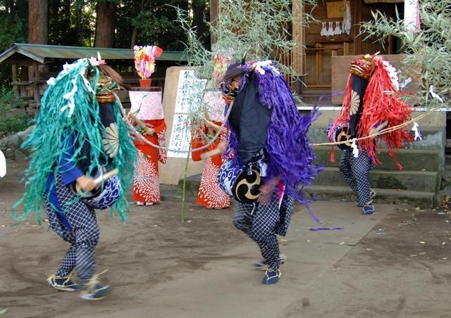 野々宮神社の獅子舞