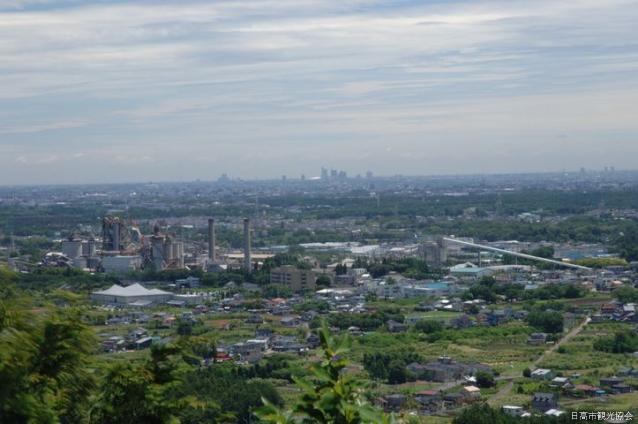 ふるさと歩道 奥武蔵の山並を展望するコース