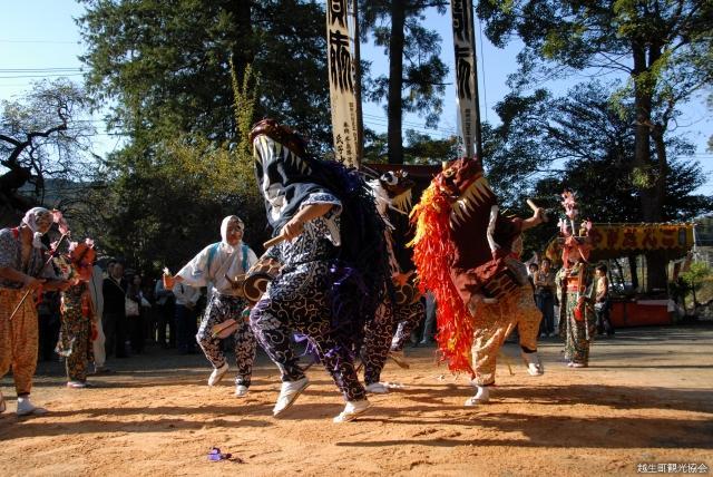 梅園神社獅子舞