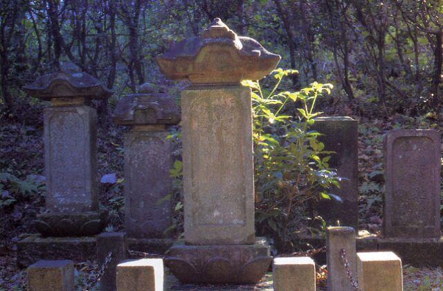 元杢網夫妻の墓