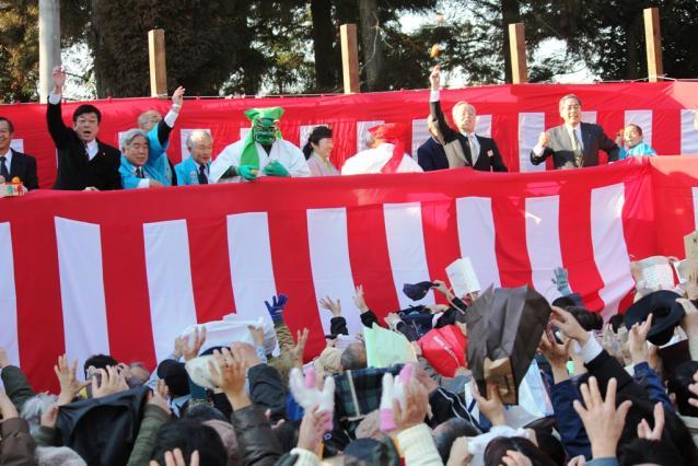 Setsubun at Kijin Shrine★12202ba2212063676