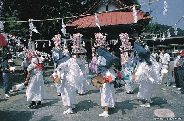 【2021年中止】ささら獅子舞(大野神社)