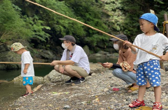 あしがくぼ渓谷国際釣場