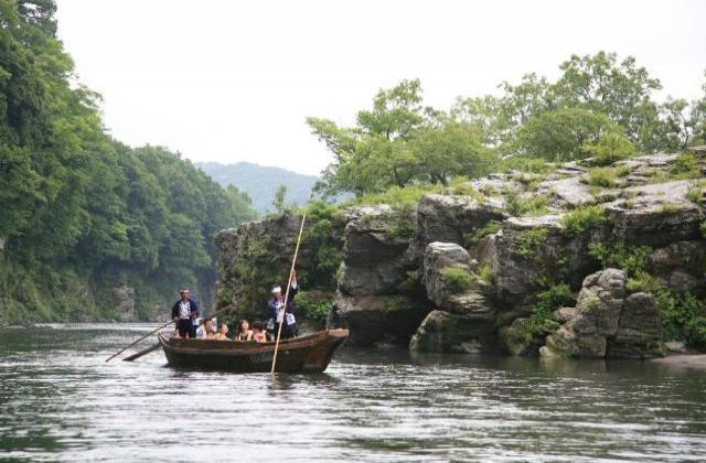 長瀞川くだり