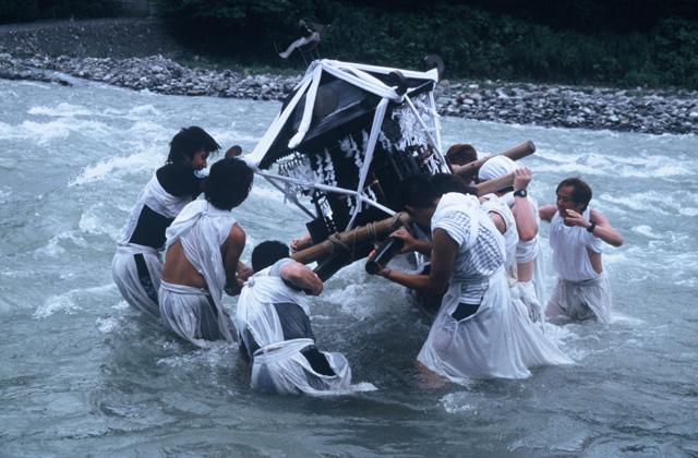 神明社夏祭(川瀬)