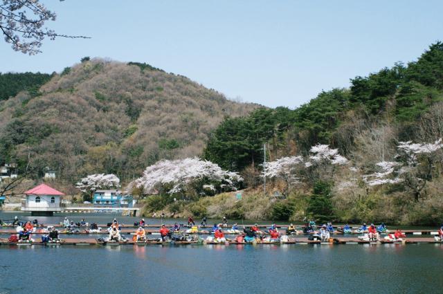 円良田湖(体験観光)