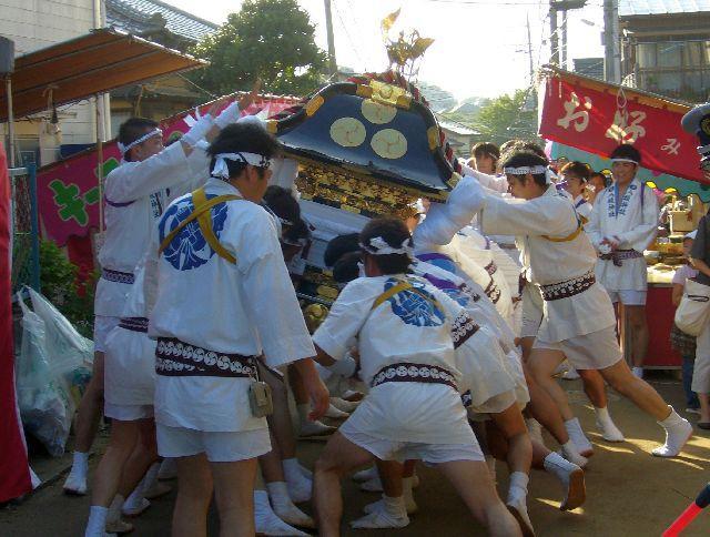 印内八坂神社の祭礼