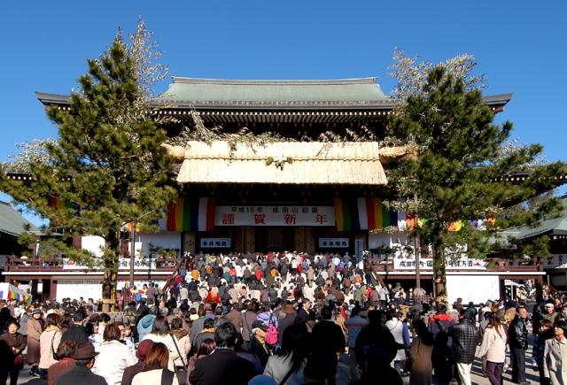 初詣成田山新勝寺