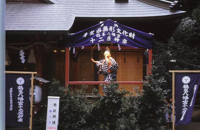 鶴峯八幡的古典舞樂
