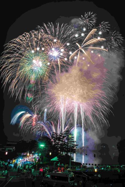 【2022年に延期】亀山湖上祭・君津市民花火大会