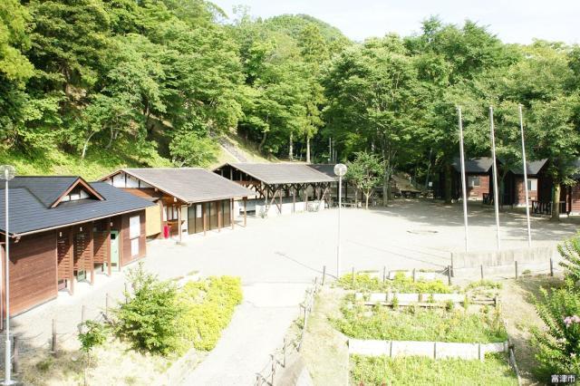 富津市民の森キャンプ場全体