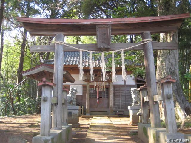 内黒田熊野神社