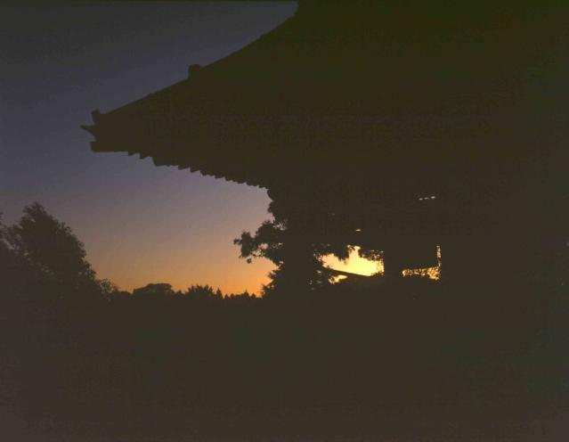 長楽寺の晩鐘