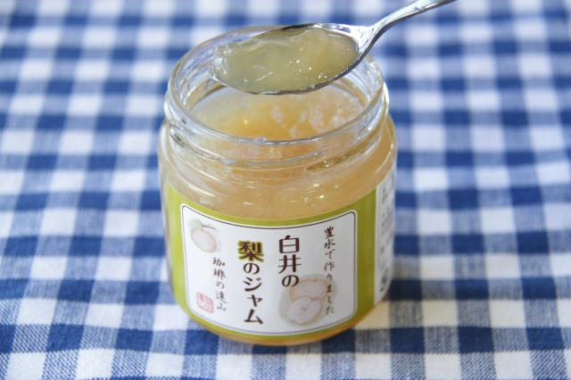 白井の梨のジャム(白井市ふるさと産品)