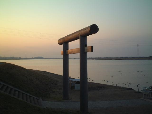津宮鳥居河岸