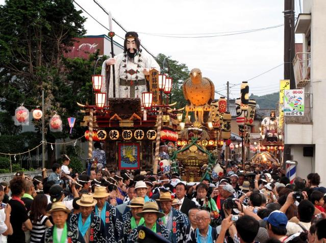 Big festival of Sawara, Summer Festival