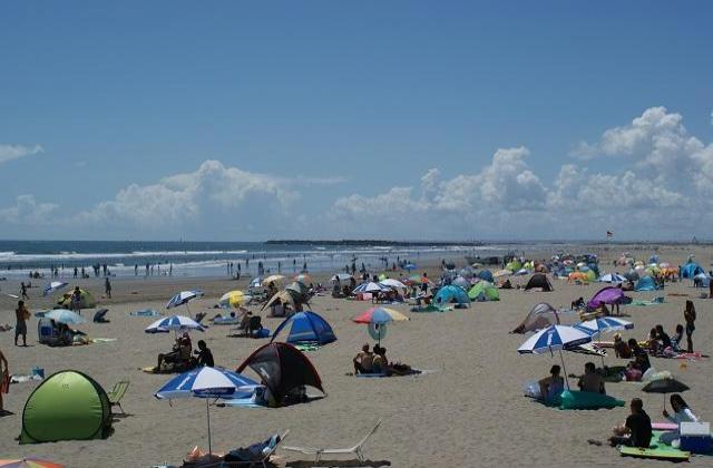本須賀海水浴場
