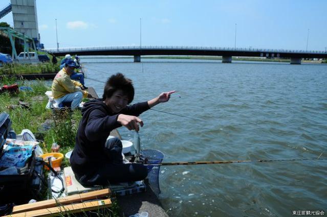 黒部川のふな釣り