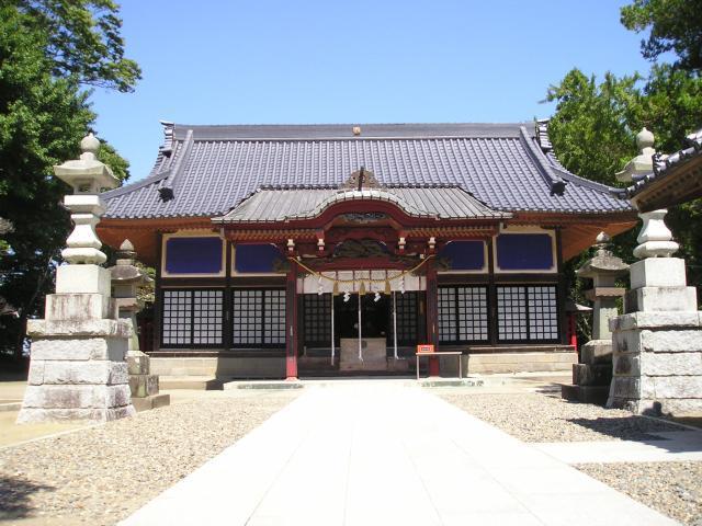 白子神社(千葉県白子町)
