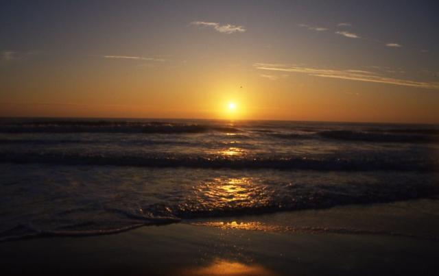 九十九里浜白子海岸初日の出