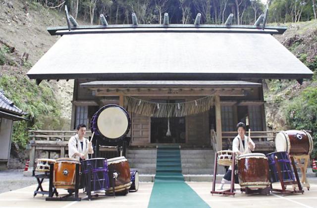 大宮神社(千葉県御宿町)