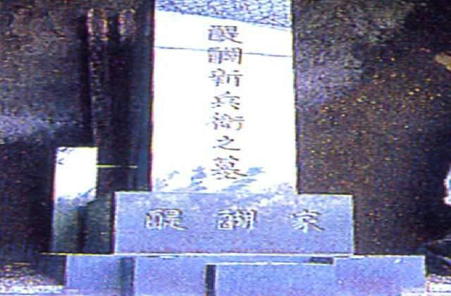 醍醐新兵衛の墓