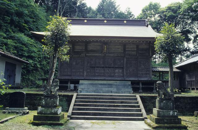 賀茂神社(千葉県南房総市)