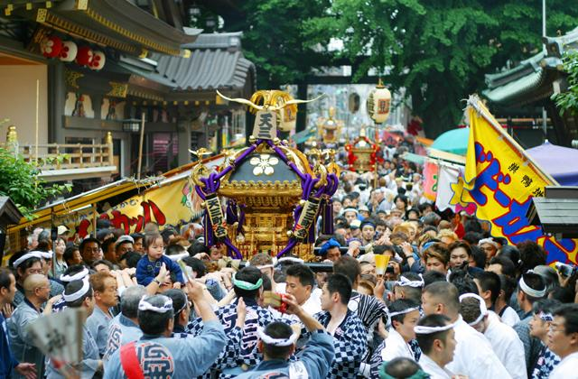 【2021年神幸祭開催なし】湯島天満宮 例大祭「天神祭」