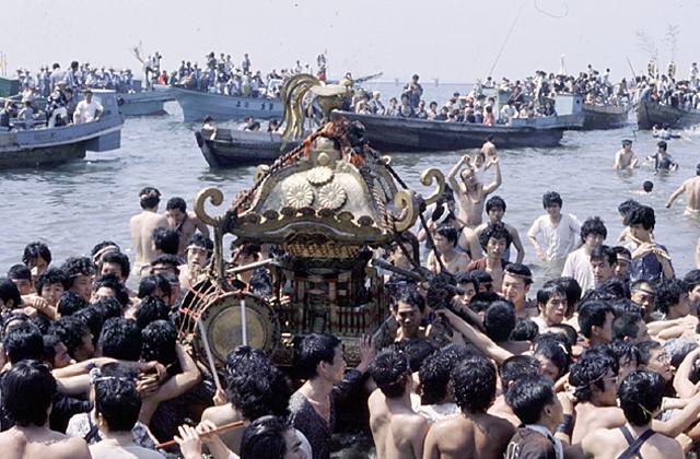 荏原神社祭祀(品川南面的天王母節kappa節)