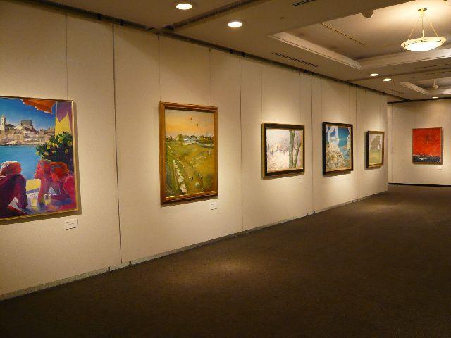 在第32次大田區居住的作家美術展