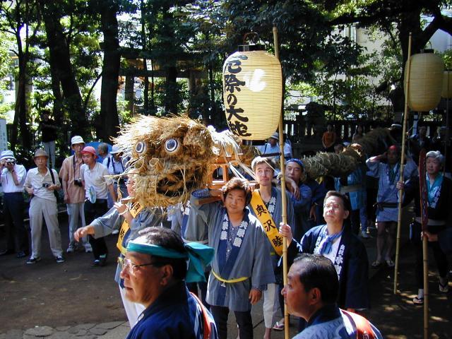 【2020年度中止】奥澤神社例大祭厄除の大蛇お練り