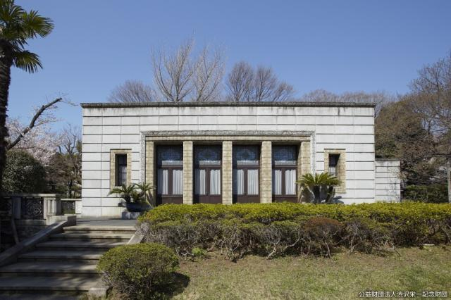 [during closing] Blue deep water library (country-designated important cultural property)