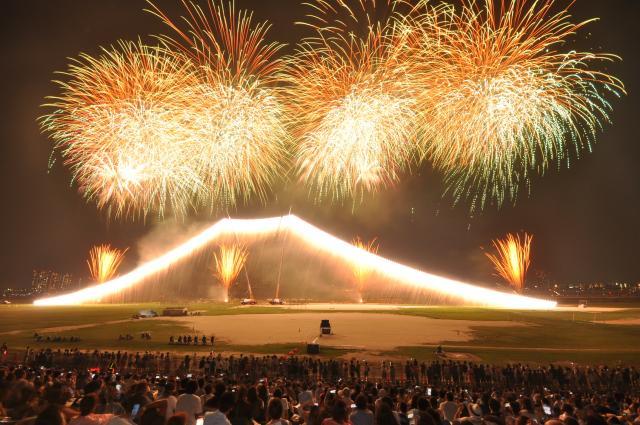 [2020 cancellation] The 45th Edogawa City Fireworks Festival