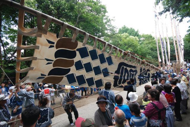 浅間神社幟り祭り