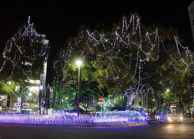 中央地區彩燈