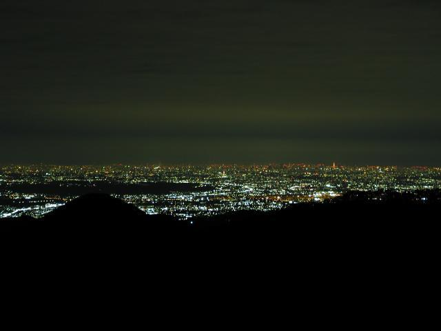 御岳山からの夜景