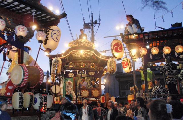 拝島日吉神社の榊祭