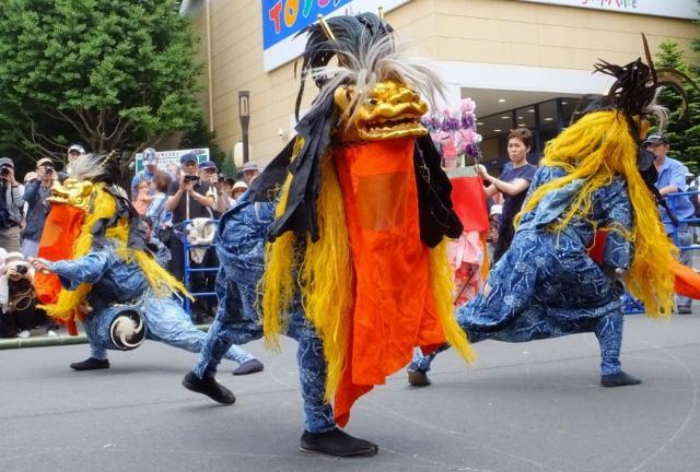 中神の獅子舞