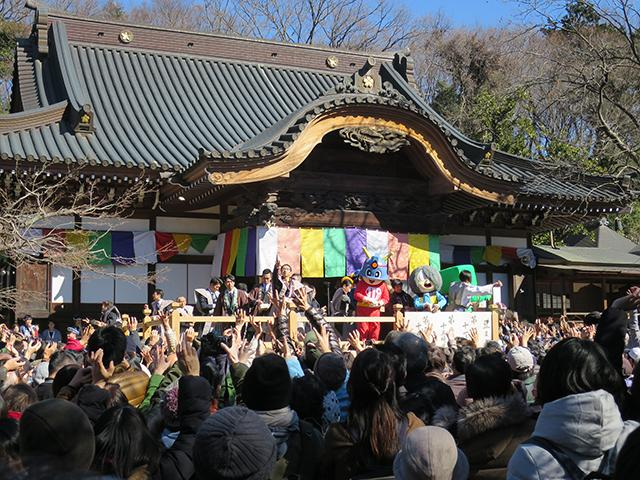 深大寺・布多天神社・国領神社節分祭
