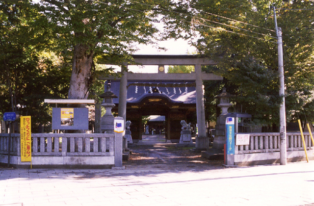 Ono Shrine (Musashi country Ichinomiya Ono shrine)★13224ag2130015116