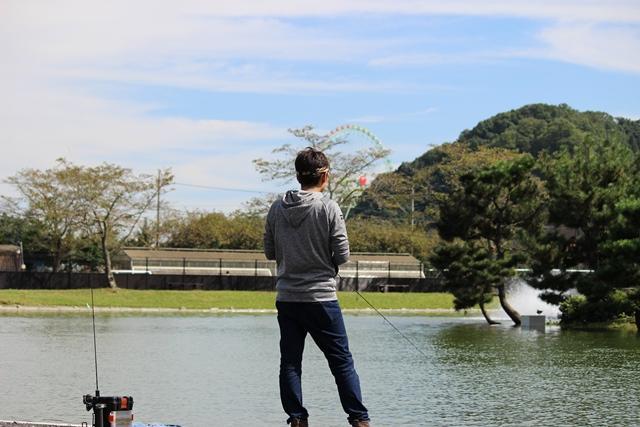 FISH UP 秋川湖