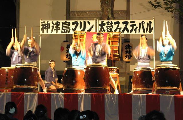神津島マリン太鼓フェスティバル