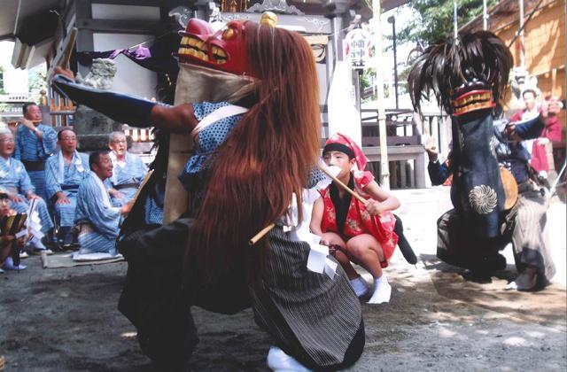 小向の獅子舞(開催未定)