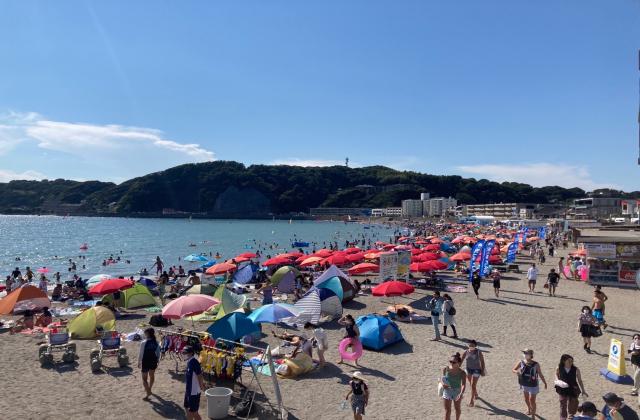 逗子海水浴場【休場中】